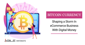bitcoin currency with digital money