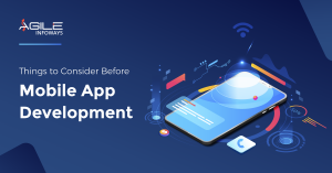 Things to consider before mobile app development