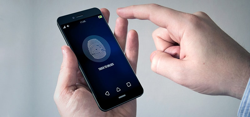 Unique Fingerprint Scanner Gestures