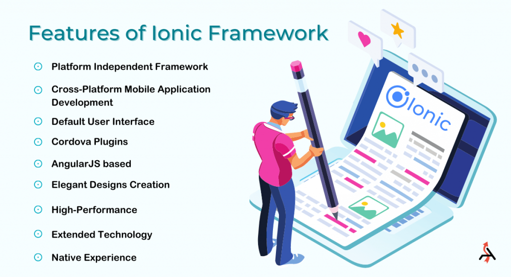 Features of Ionic