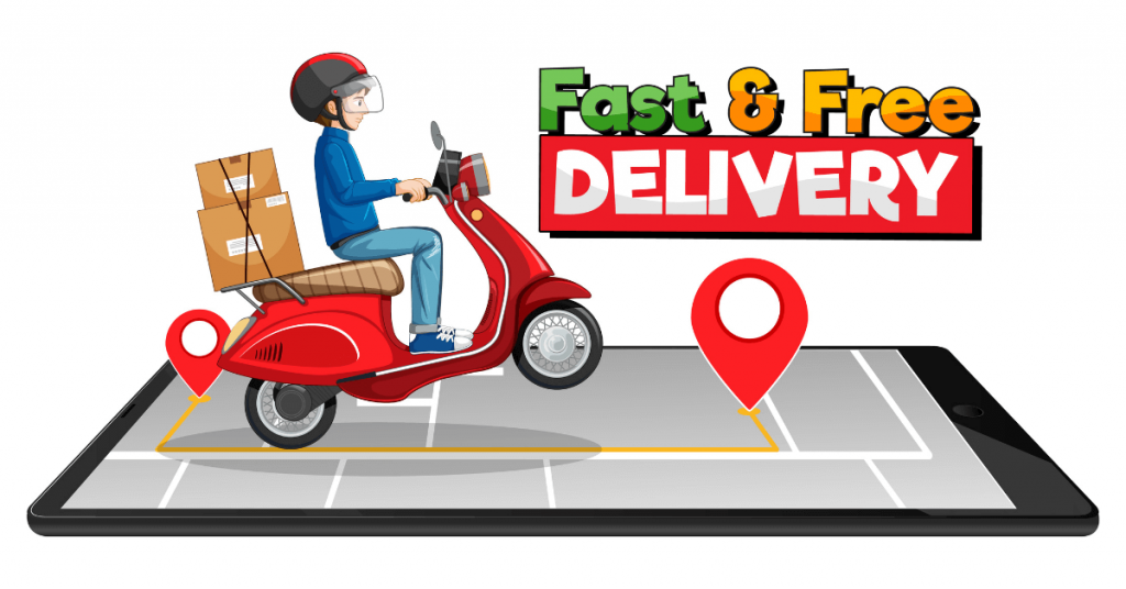 Fast and Free delivery services
