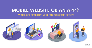 mobile website or a mobile app for their business